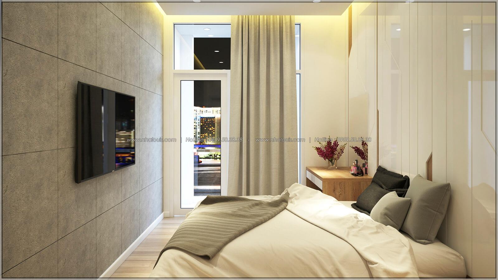 Phòng ngủ Thiết kế nhà mặt tiền 6m tại Quận Bình Tân - 13