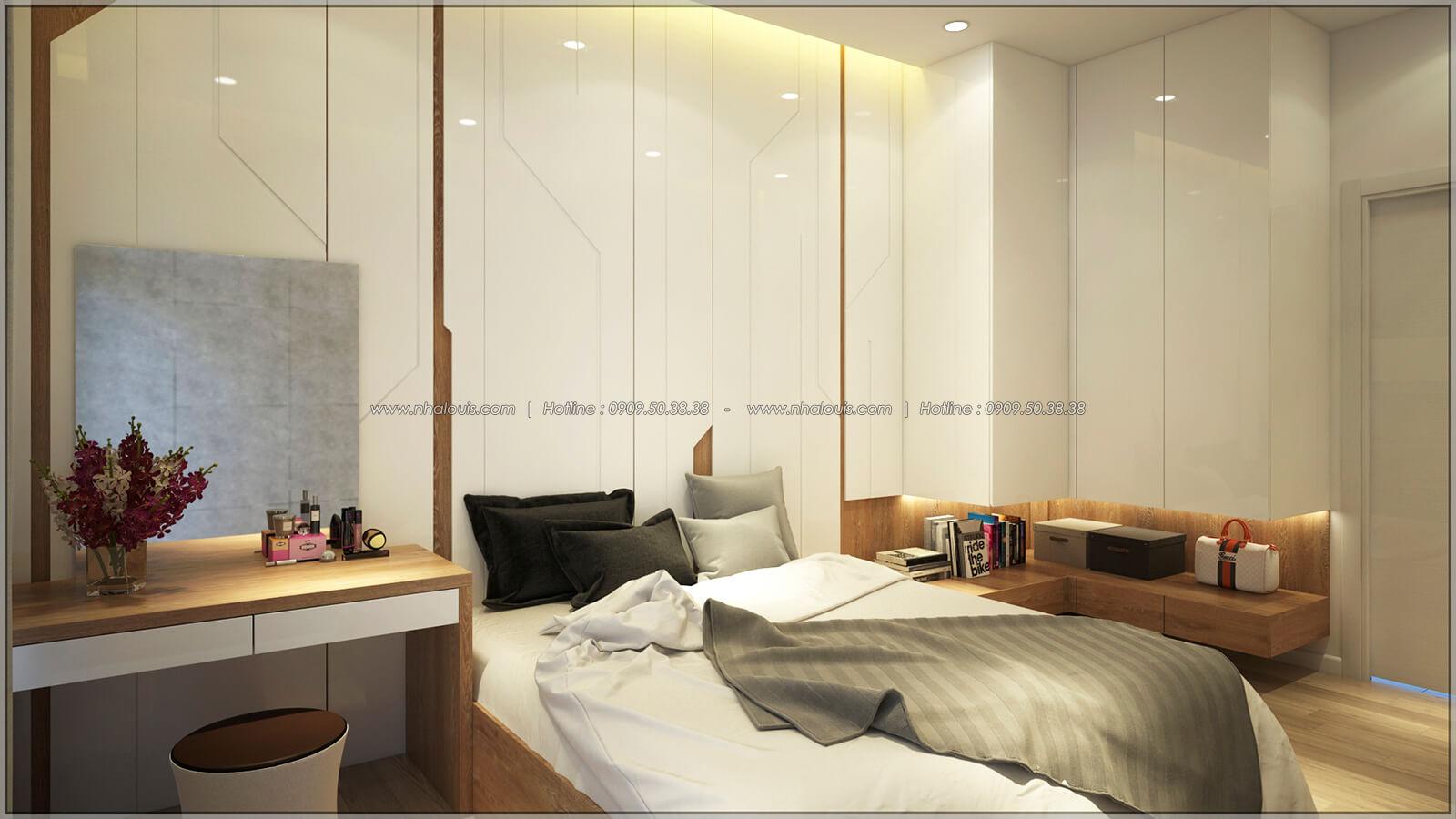 Phòng ngủ Thiết kế nhà mặt tiền 6m tại Quận Bình Tân - 14