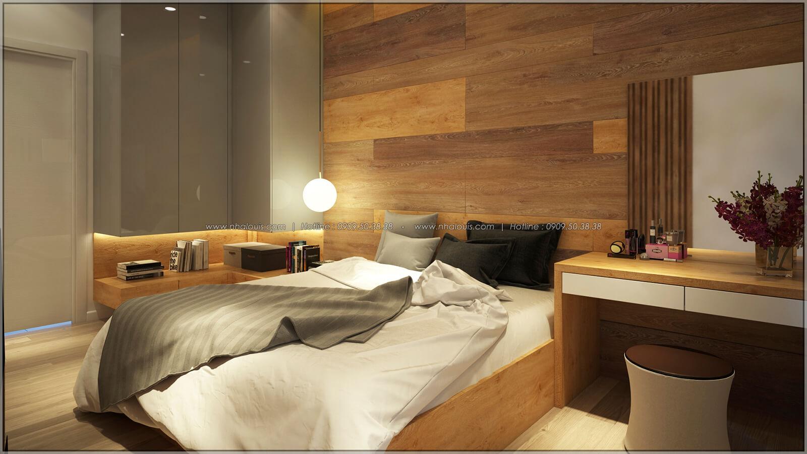 Phòng ngủ Thiết kế nhà mặt tiền 6m tại Quận Bình Tân - 17