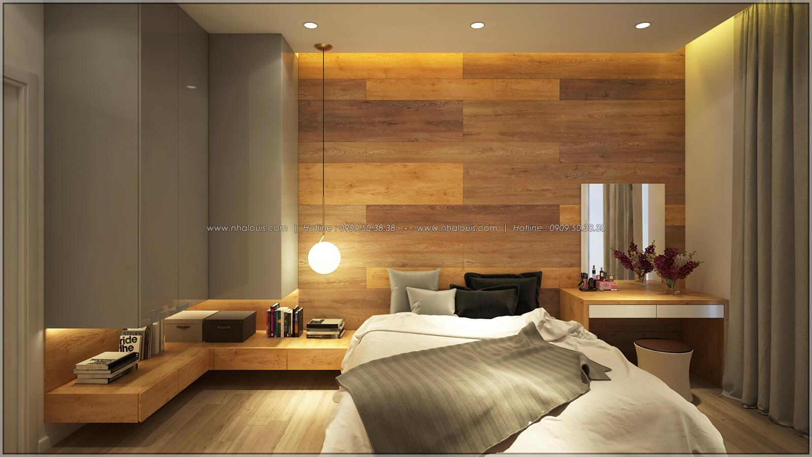 Phòng ngủ Thiết kế nhà mặt tiền 6m tại Quận Bình Tân - 18