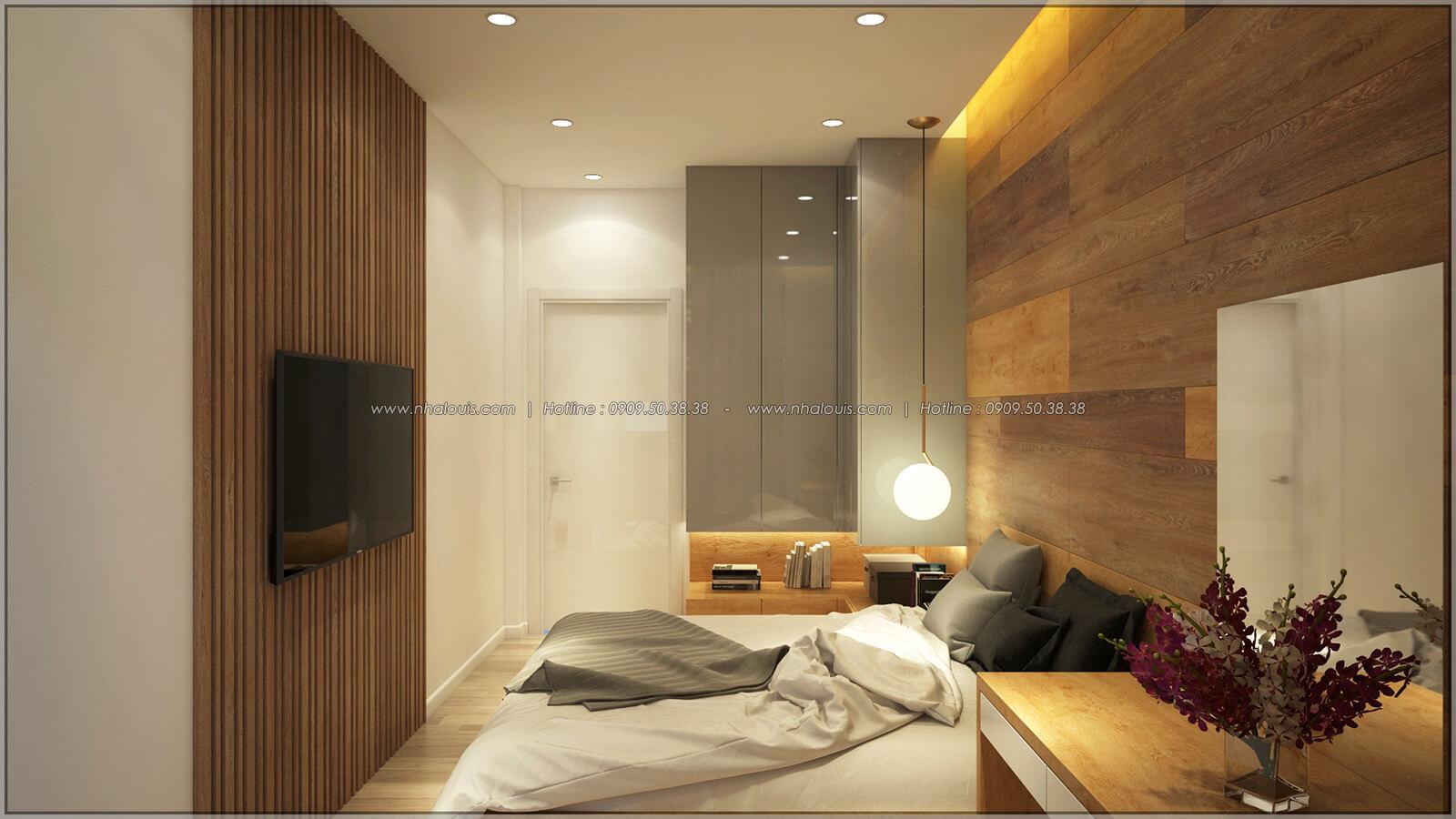 Phòng ngủ Thiết kế nhà mặt tiền 6m tại Quận Bình Tân - 19