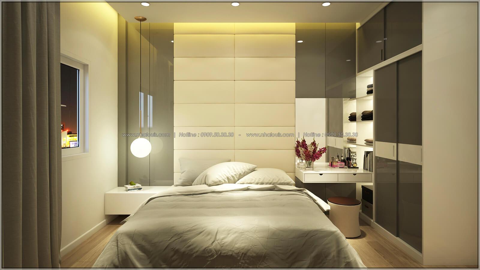 Phòng ngủ Thiết kế nhà mặt tiền 6m tại Quận Bình Tân - 20