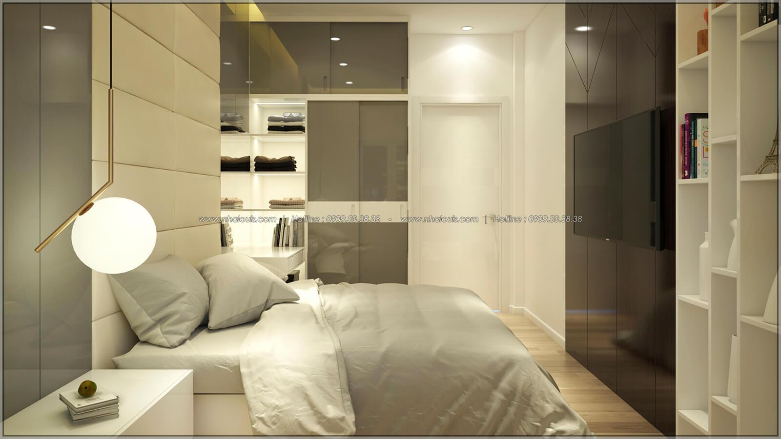 Phòng ngủ Thiết kế nhà mặt tiền 6m tại Quận Bình Tân - 21