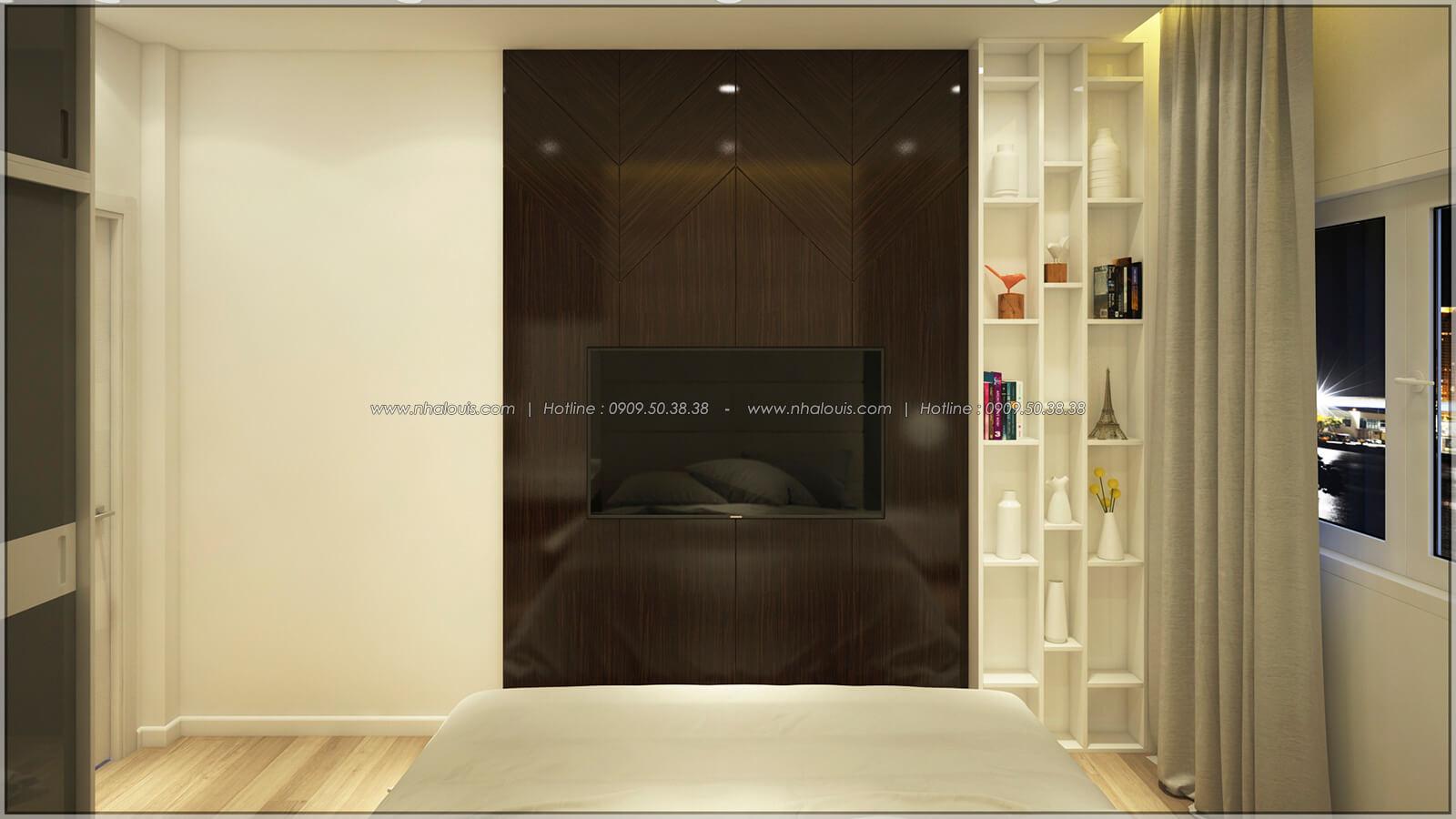 Phòng ngủ Thiết kế nhà mặt tiền 6m tại Quận Bình Tân - 23