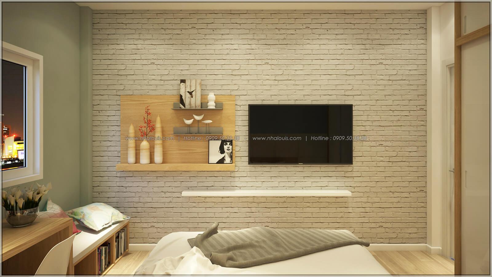 Phòng ngủ Thiết kế nhà mặt tiền 6m tại Quận Bình Tân - 24