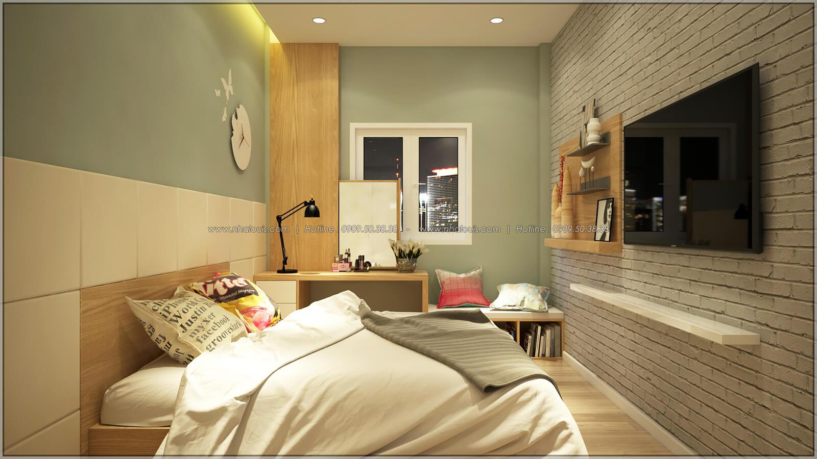 Phòng ngủ Thiết kế nhà mặt tiền 6m tại Quận Bình Tân - 25