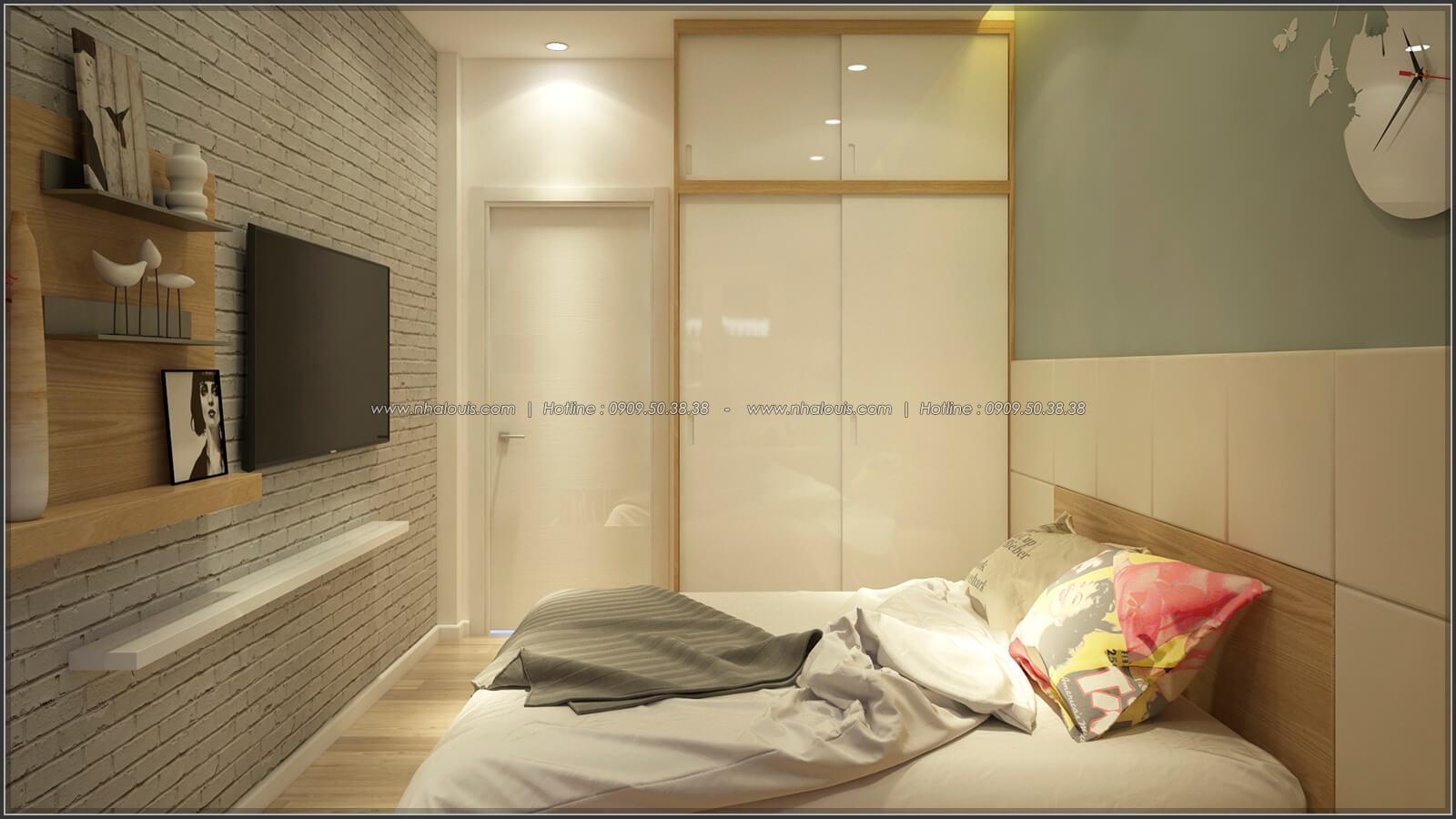 Phòng ngủ Thiết kế nhà mặt tiền 6m tại Quận Bình Tân - 27