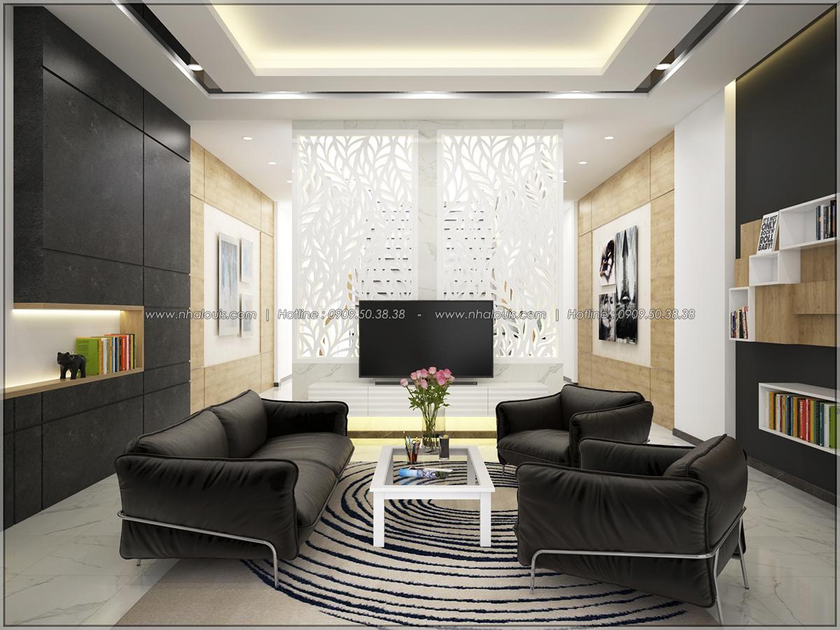 Thiết kế nhà mặt tiền 6m phong cách hiện đại tinh tế tại Quận Bình Tân