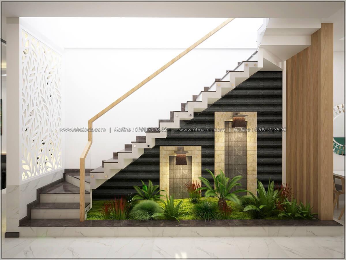 Tiểu cảnh Thiết kế nhà mặt tiền 6m tại Quận Bình Tân - 7