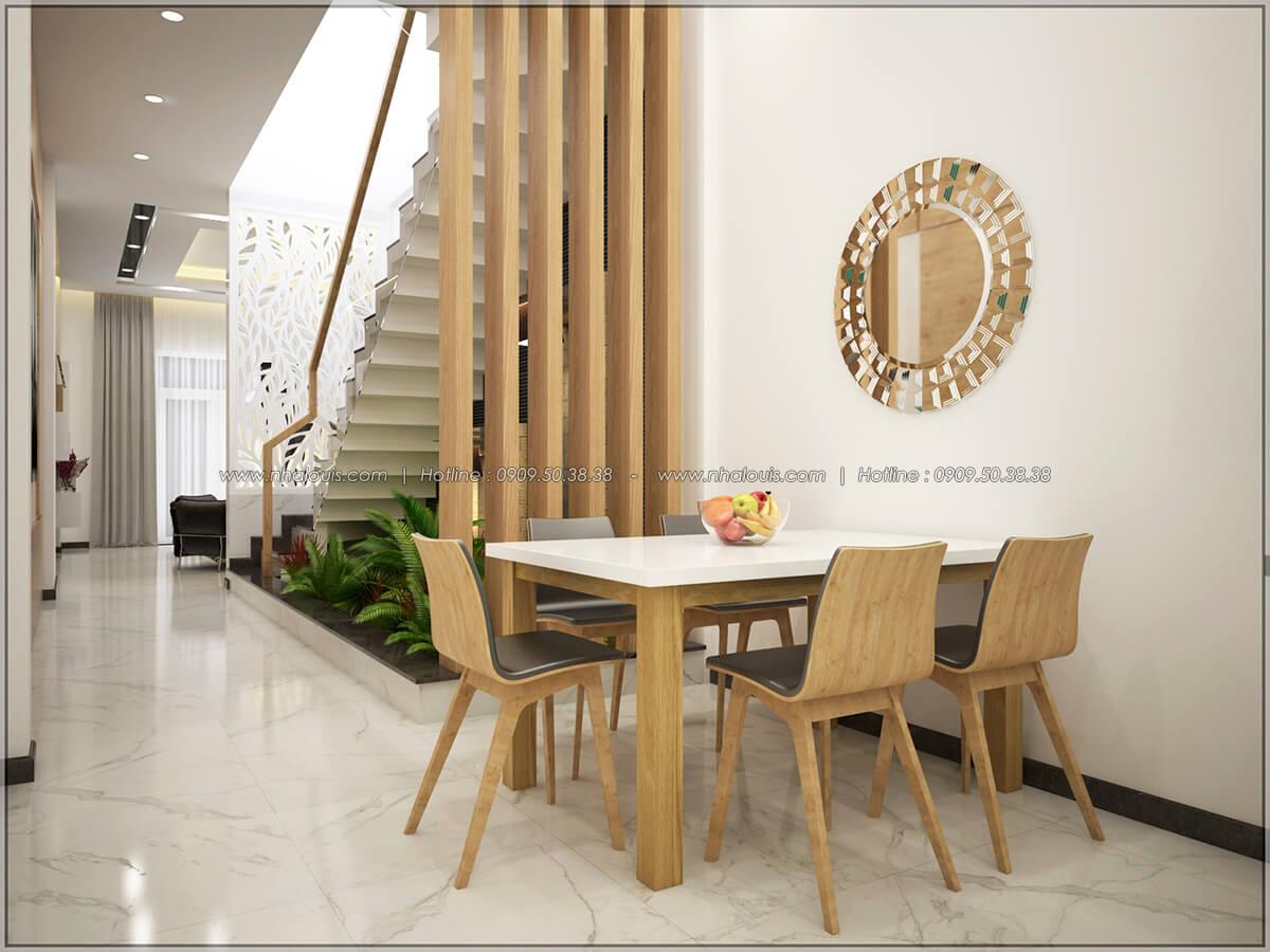 Phòng ăn Thiết kế nhà mặt tiền 6m tại Quận Bình Tân - 8