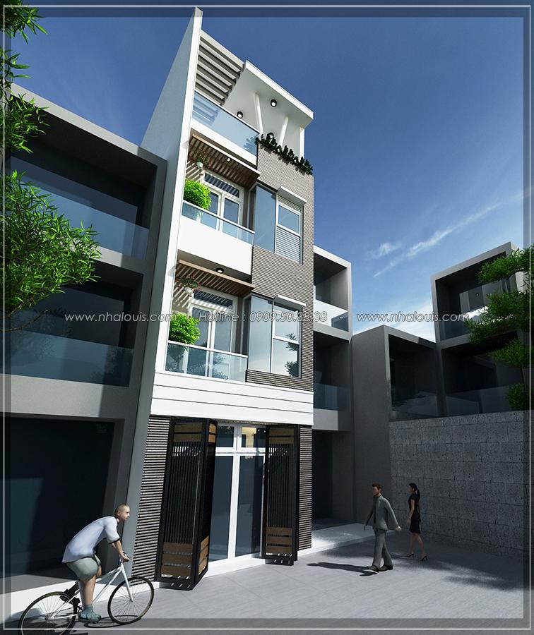 Thiết kế nhà đẹp diện tích nhỏ cho gia đình trẻ tại quận 3 - 2