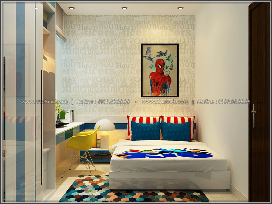 Thiết kế nhà đẹp diện tích nhỏ cho gia đình trẻ tại quận 3 - 23