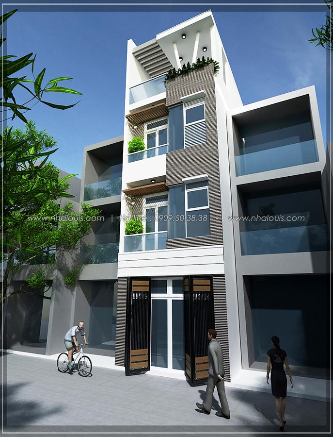 Thiết kế nhà đẹp diện tích nhỏ cho gia đình trẻ tại quận 3 - 4