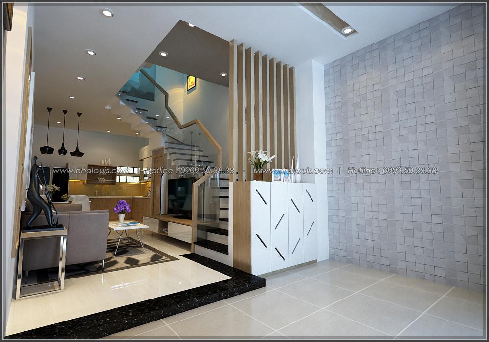 Thiết kế nhà đẹp diện tích nhỏ cho gia đình trẻ tại quận 3 - 6
