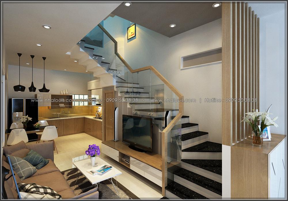 Thiết kế nhà đẹp diện tích nhỏ cho gia đình trẻ tại quận 3 - 8