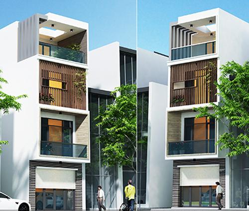 Thiết kế nhà lệch tầng đẹp 4.5x14.5m hiện đại tại quận Tân Bình - 30