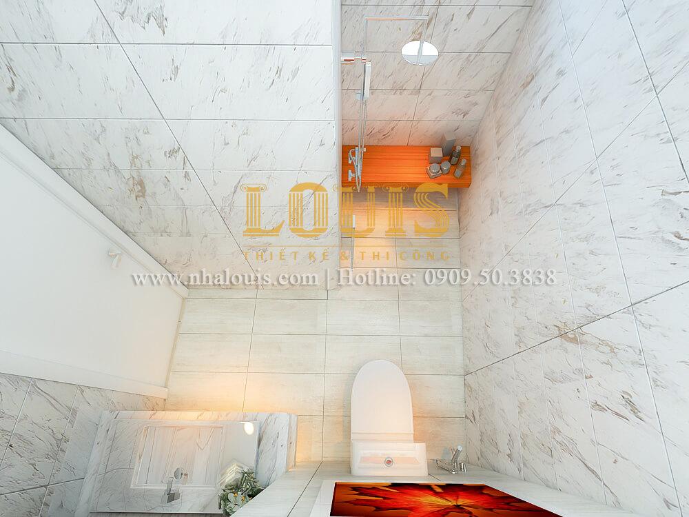 Bí quyết giúp phòng tắm mẫu nhà 4x16 đẹp và rộng bất chấp