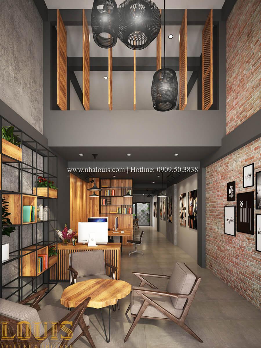 Văn phòng Tư vấn thiết kế mẫu nhà đẹp 4x20m hiện đại và sang trọng tại quận 8 - 16
