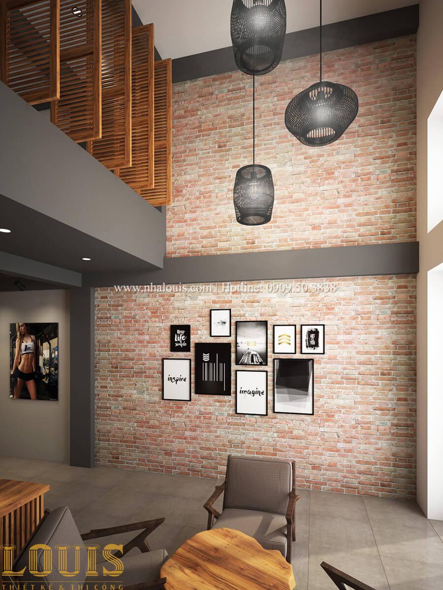 Văn phòng Tư vấn thiết kế mẫu nhà đẹp 4x20m hiện đại và sang trọng tại quận 8 - 17