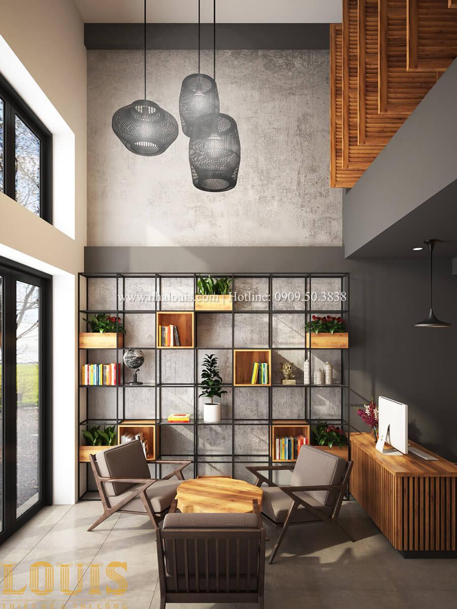 Văn phòng Tư vấn thiết kế mẫu nhà đẹp 4x20m hiện đại và sang trọng tại quận 8 - 18