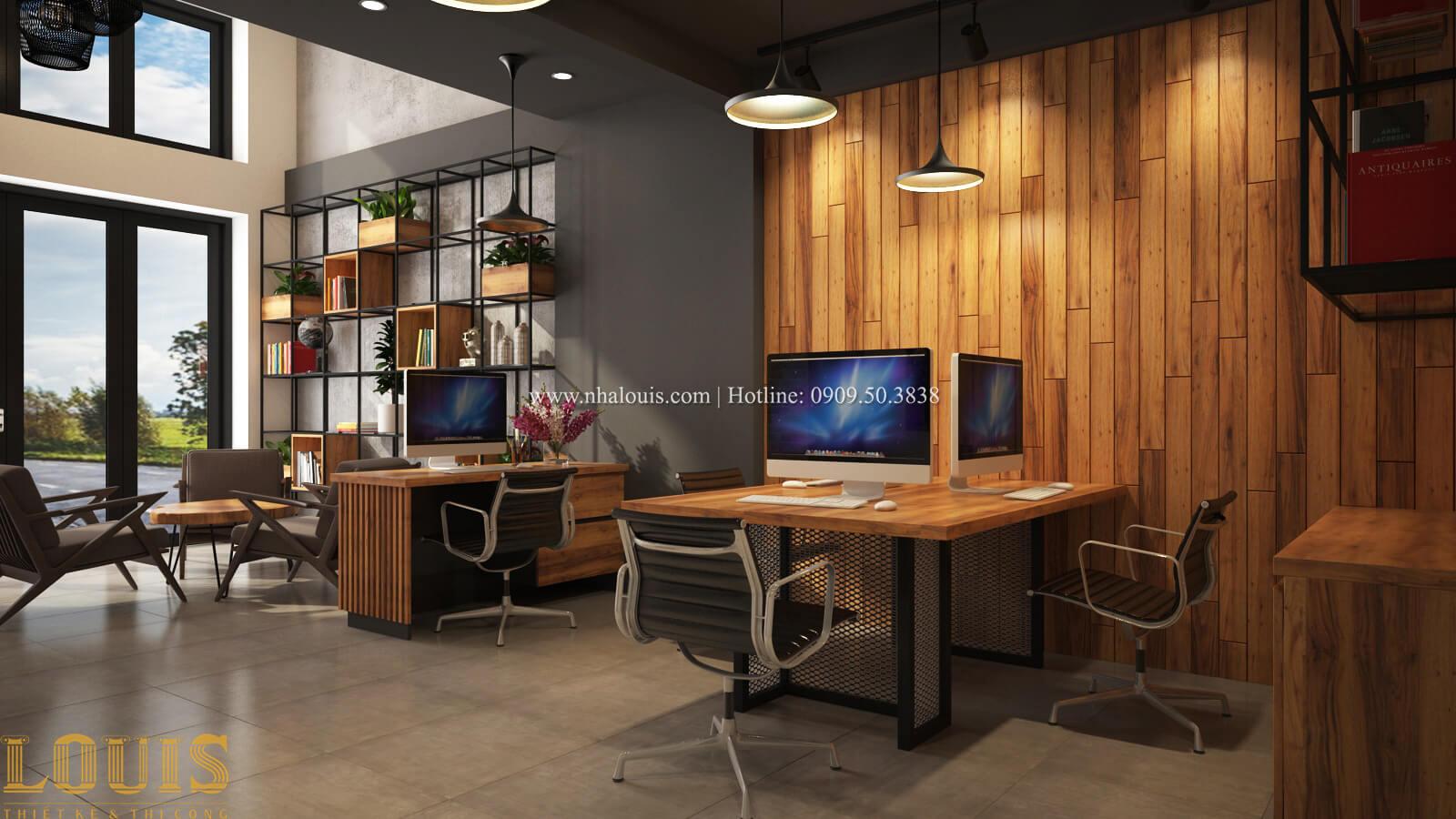Văn phòng Tư vấn thiết kế mẫu nhà đẹp 4x20m hiện đại và sang trọng tại quận 8 - 19