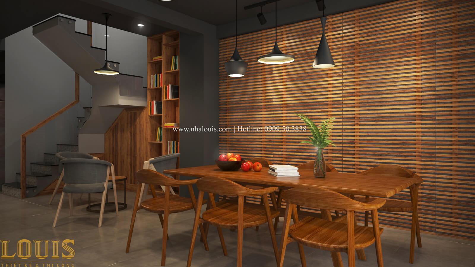Phòng làm việc Tư vấn thiết kế mẫu nhà đẹp 4x20m hiện đại và sang trọng tại quận 8 - 20