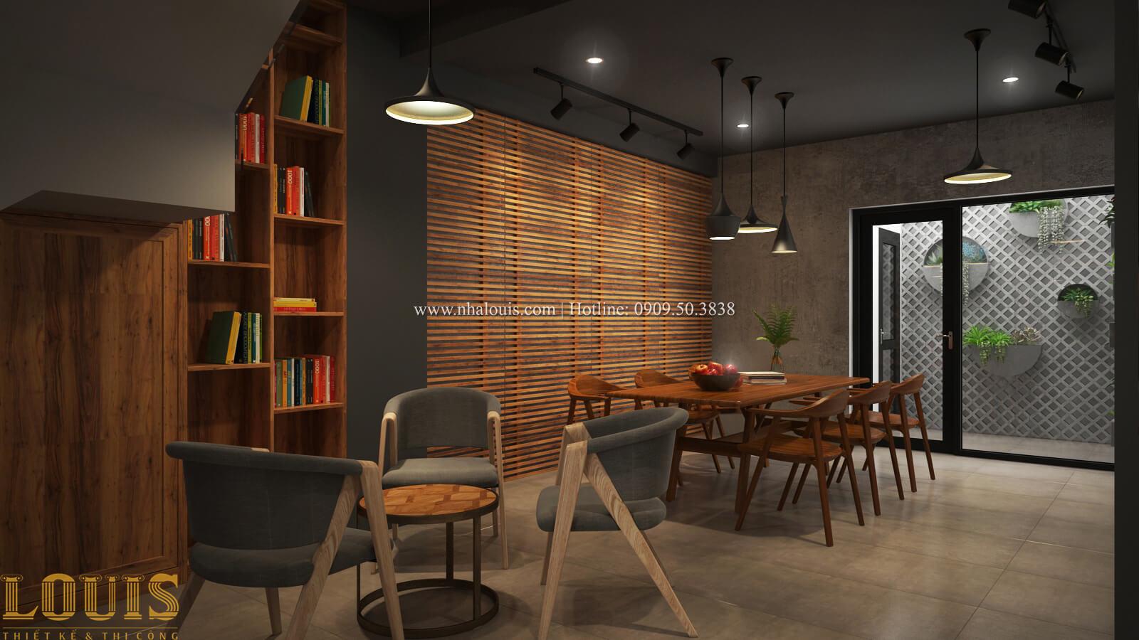 Phòng làm việc Tư vấn thiết kế mẫu nhà đẹp 4x20m hiện đại và sang trọng tại quận 8 - 21