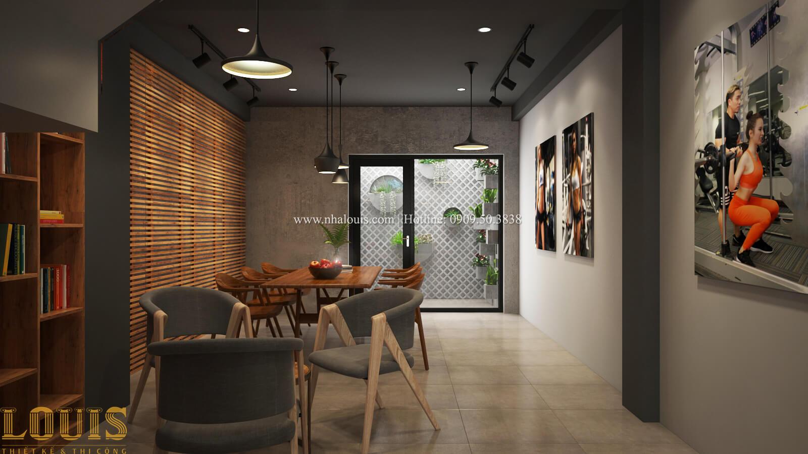 Phòng làm việc Tư vấn thiết kế mẫu nhà đẹp 4x20m hiện đại và sang trọng tại quận 8 - 22