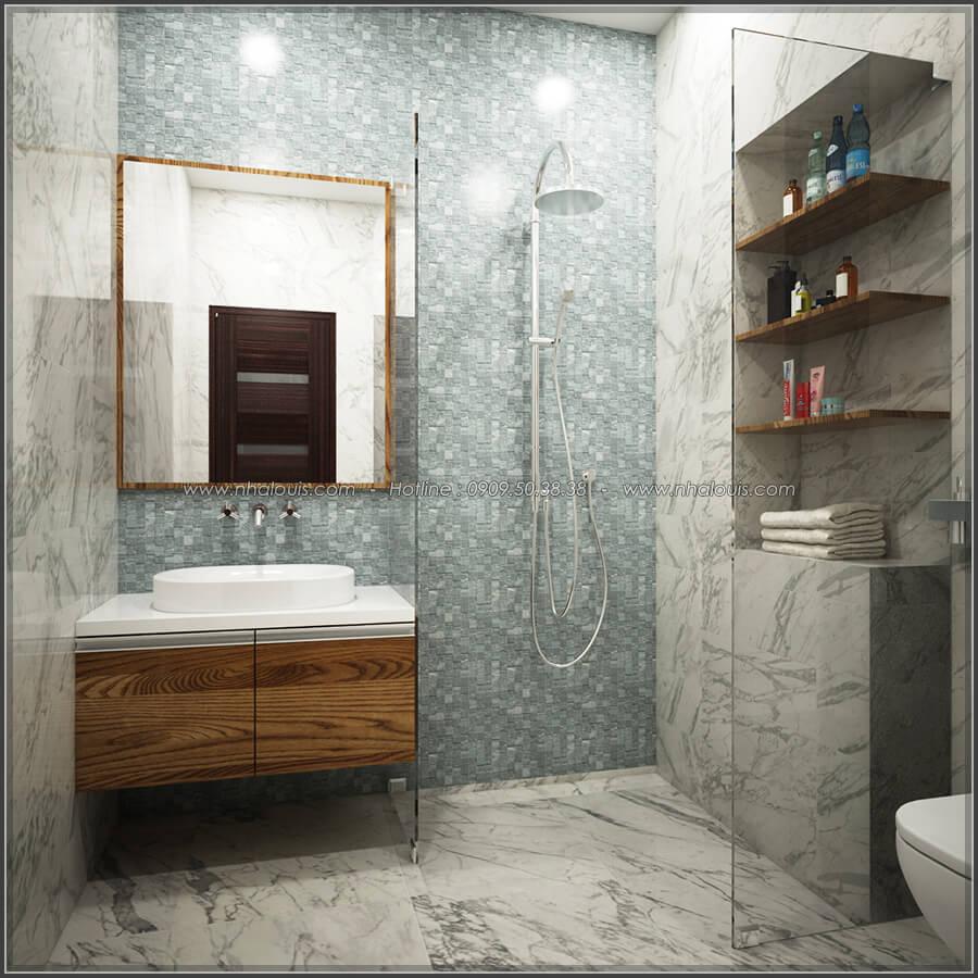 Phòng ngủ Thiết kế nhà ở kết hợp kinh doanh với master sang chảnh quận 8 - 13