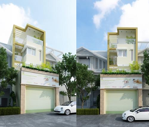 Thiết kế nhà phố kết hợp kinh doanh với master sang chảnh quận 8 - 14