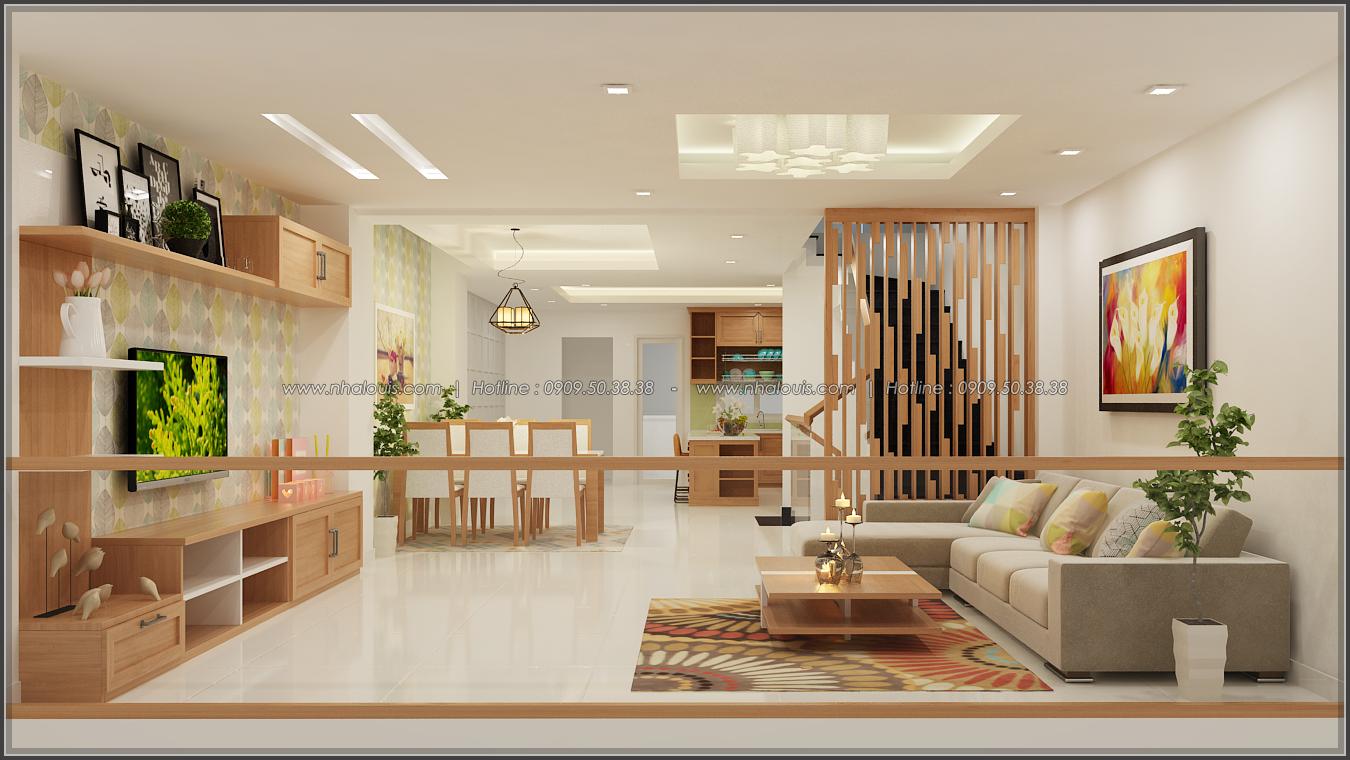 Thiết kế nhà phố kết hợp kinh doanh với master sang chảnh quận 8 - 4