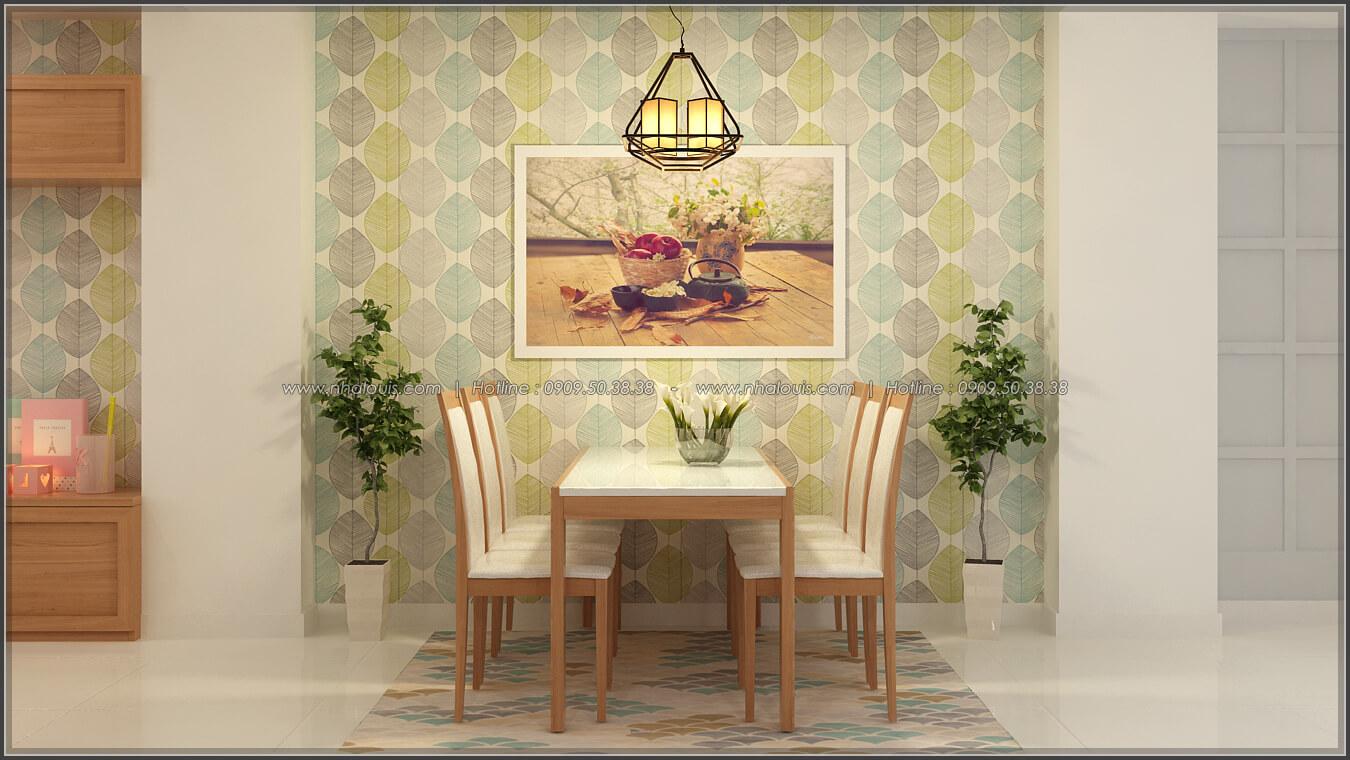 Phòng ăn Thiết kế nhà ở kết hợp kinh doanh với master sang chảnh quận 8 - 7