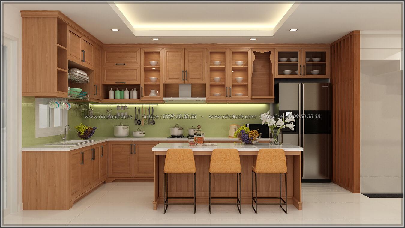 Phòng bếp phòng ăn Thiết kế nhà ở kết hợp kinh doanh với master sang chảnh quận 8 - 8