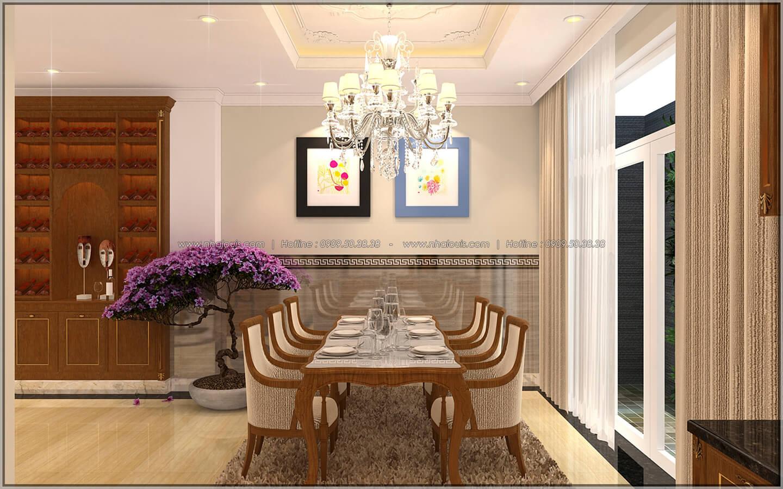 Phòng bếp và phòng ăn Thiết kế nhà phố kiểu Pháp với mặt tiền 6m hoành tráng tại Bình Tân - 10