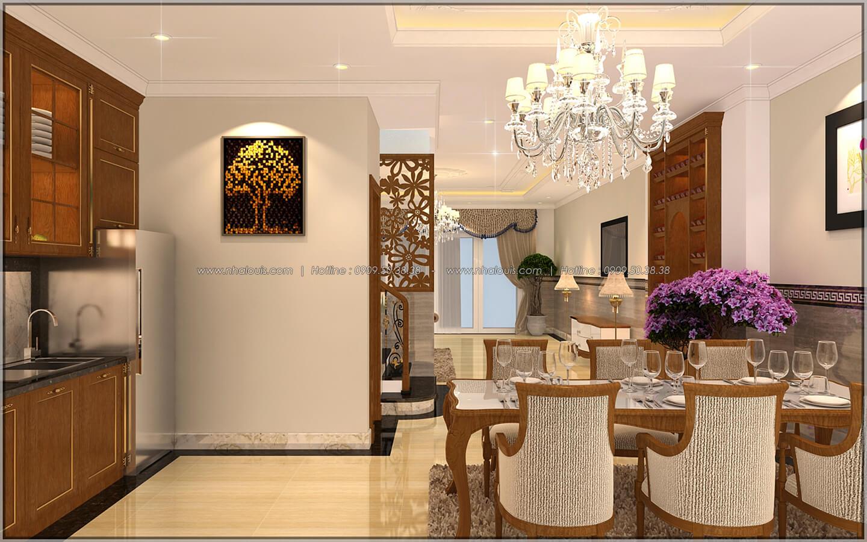 Phòng bếp và phòng ăn Thiết kế nhà phố kiểu Pháp với mặt tiền 6m hoành tráng tại Bình Tân - 11