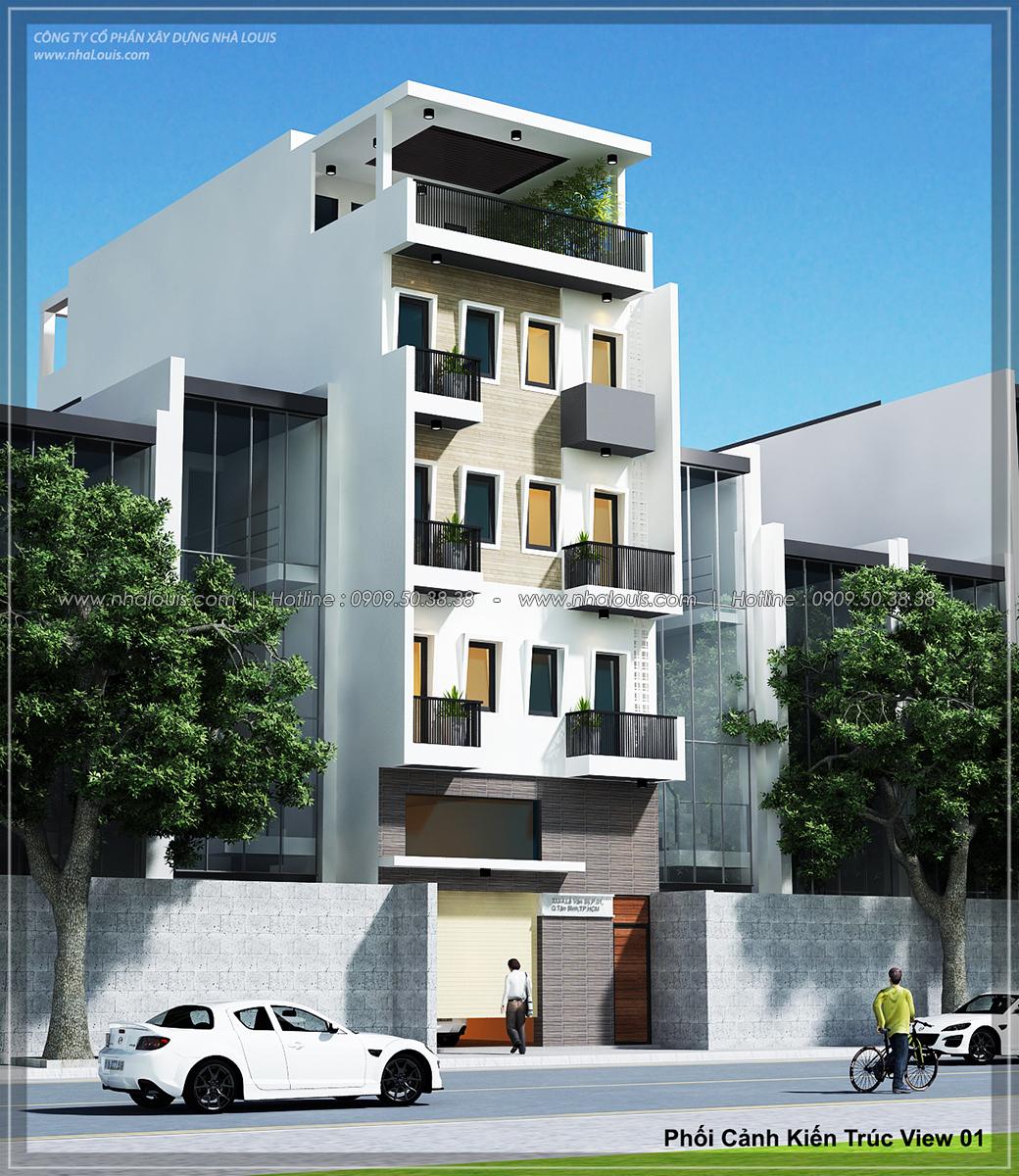 Thiết kế nhà trọ cho thuê cao cấp tiết kiệm chi phí và hiệu quả tại Tân Bình - 01