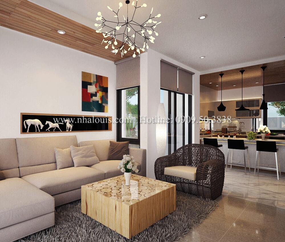 Thiết kế nội thất biệt thự cao cấp Lucasta Villa 5 sao tại Quận 9