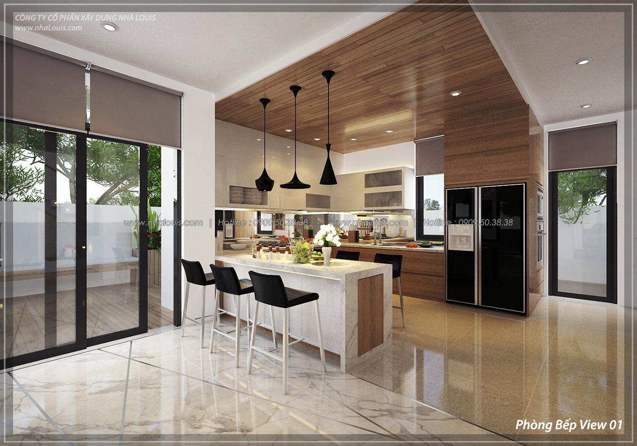 Thiết kế nội thất biệt thự sinh thái cao cấp Lucasta Villa 5 sao tại Quận 9 - 11