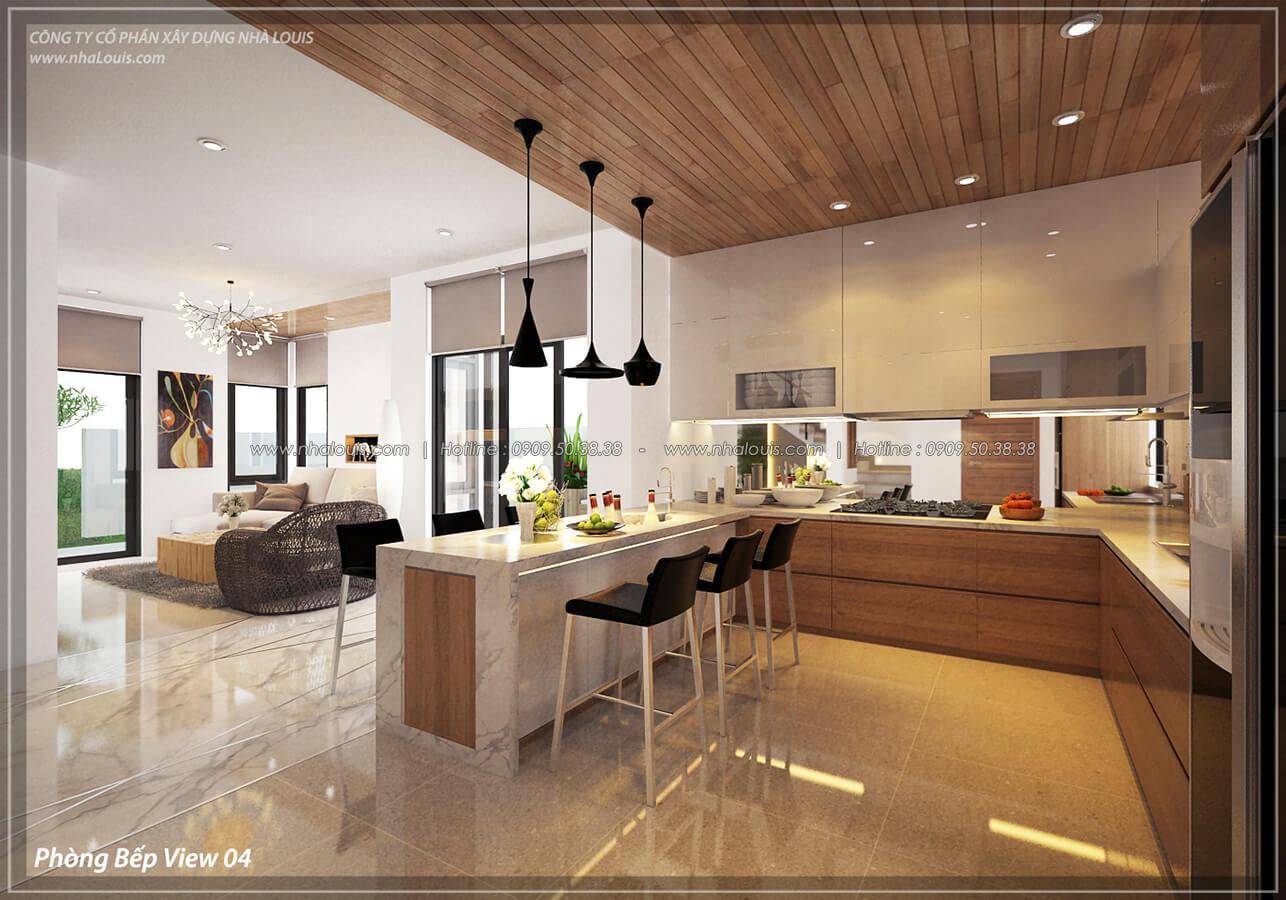 Phòng bếp và phòng ăn Thiết kế nội thất biệt thự cao cấp Lucasta Villa 5 sao tại Quận 9 - 14