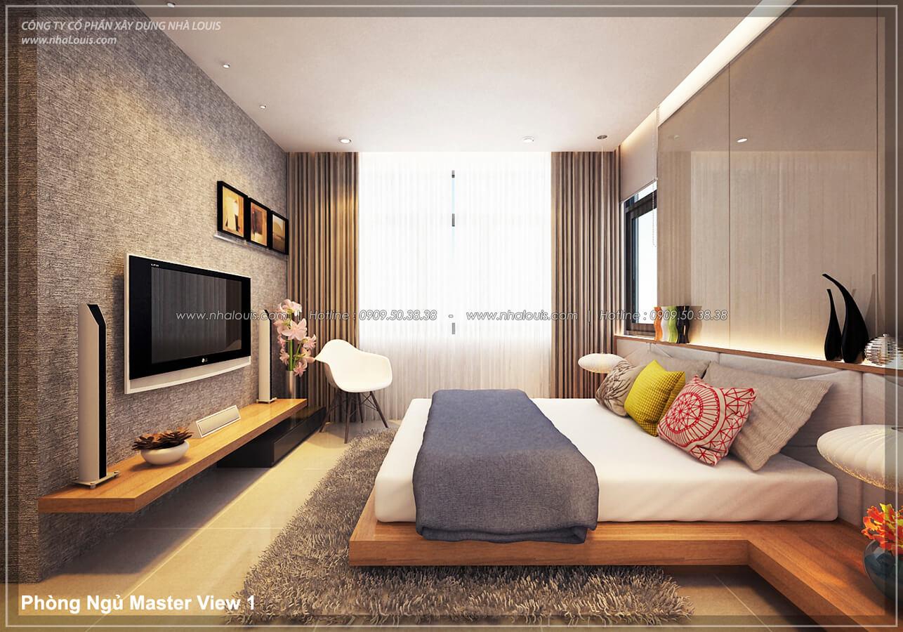 Phòng ngủ Thiết kế nội thất biệt thự cao cấp Lucasta Villa 5 sao tại Quận 9 - 16