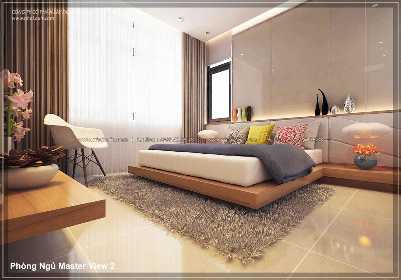 Phòng ngủ Thiết kế nội thất biệt thự cao cấp Lucasta Villa 5 sao tại Quận 9 - 17