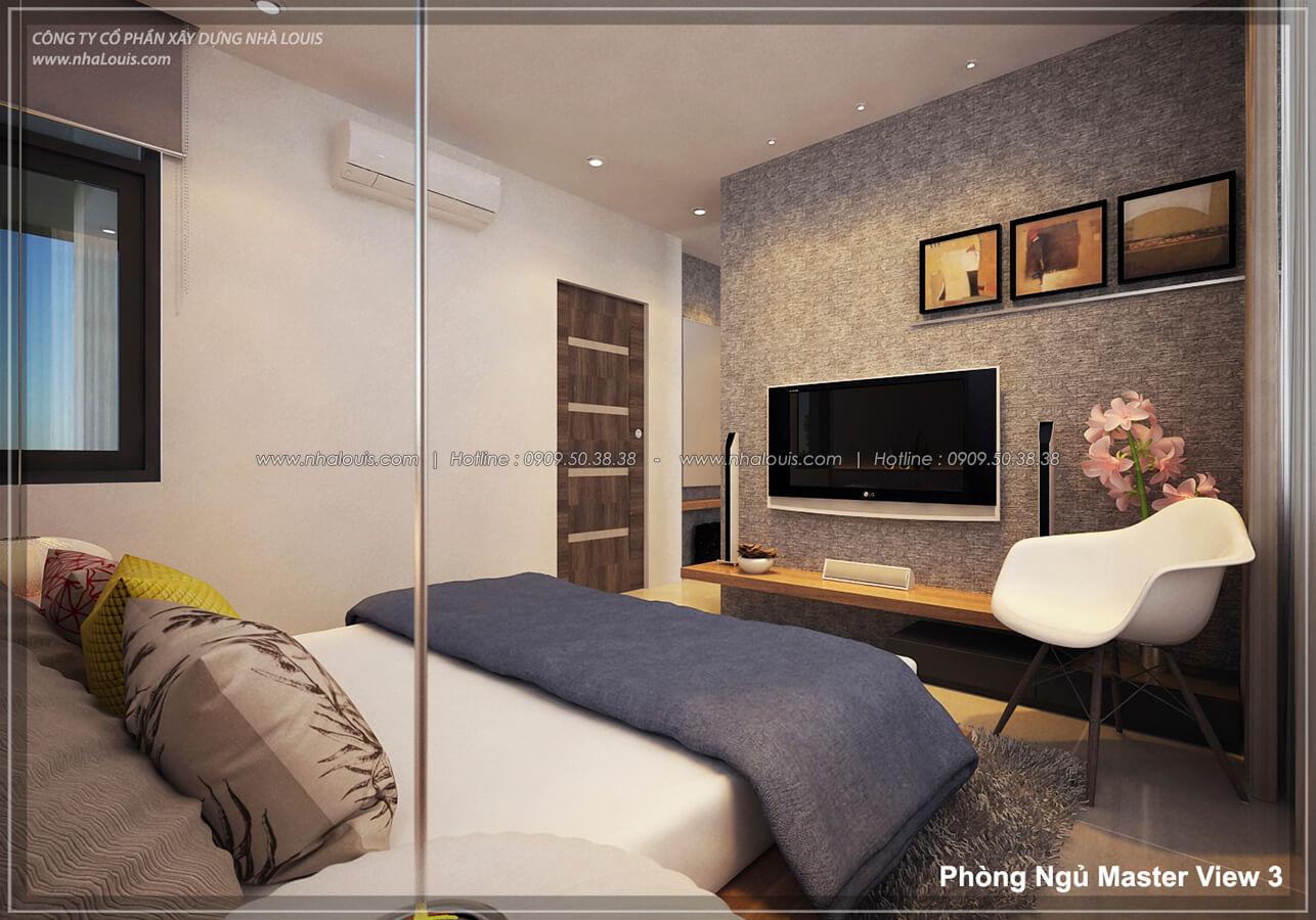 Phòng ngủ Thiết kế nội thất biệt thự cao cấp Lucasta Villa 5 sao tại Quận 9 - 18