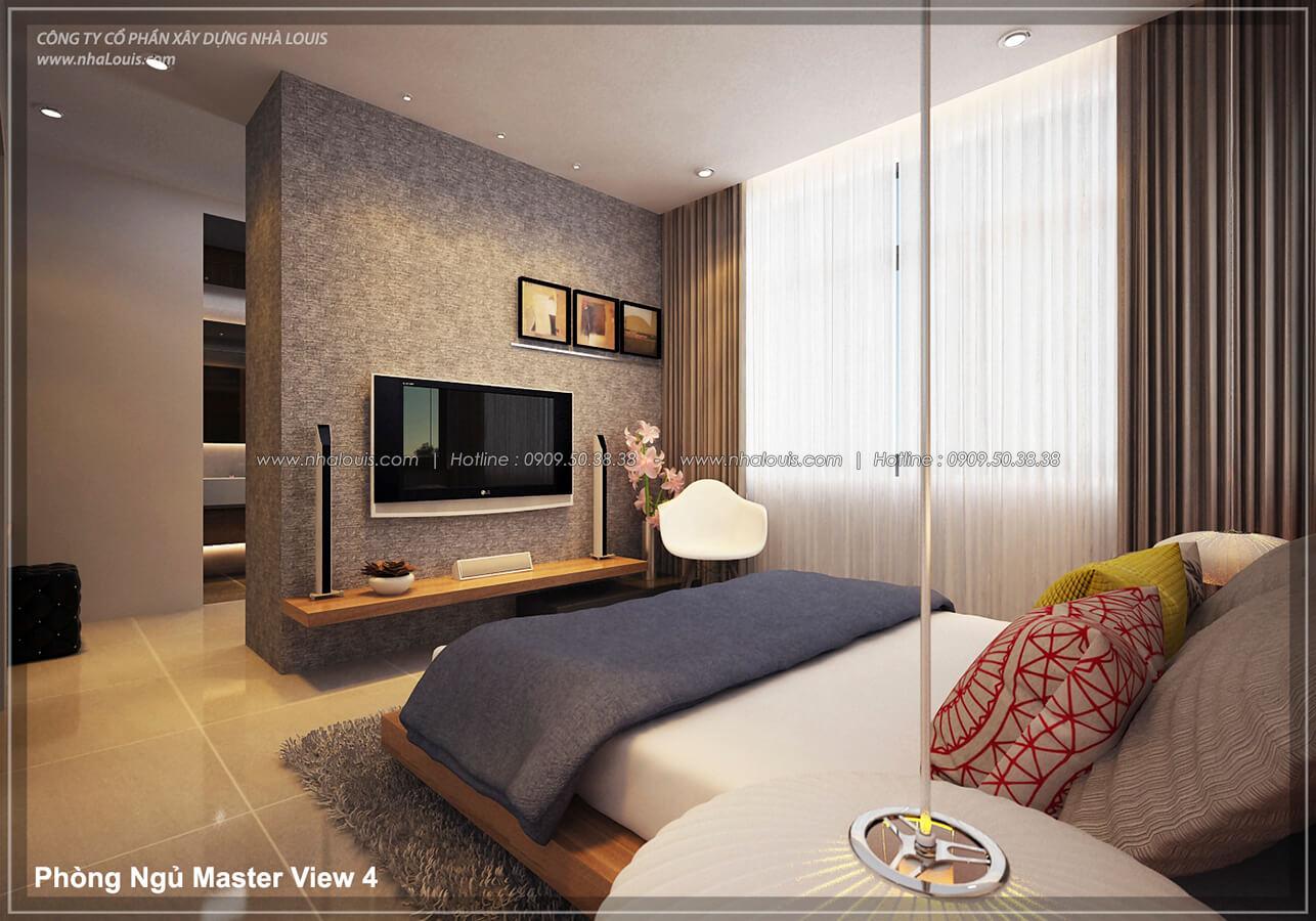Phòng ngủ Thiết kế nội thất biệt thự cao cấp Lucasta Villa 5 sao tại Quận 9 - 19
