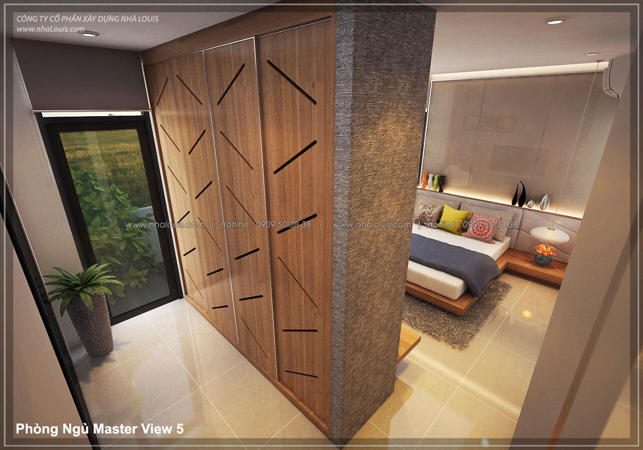 Phòng ngủ master Thiết kế nội thất biệt thự cao cấp Lucasta Villa 5 sao tại Quận 9 - 21