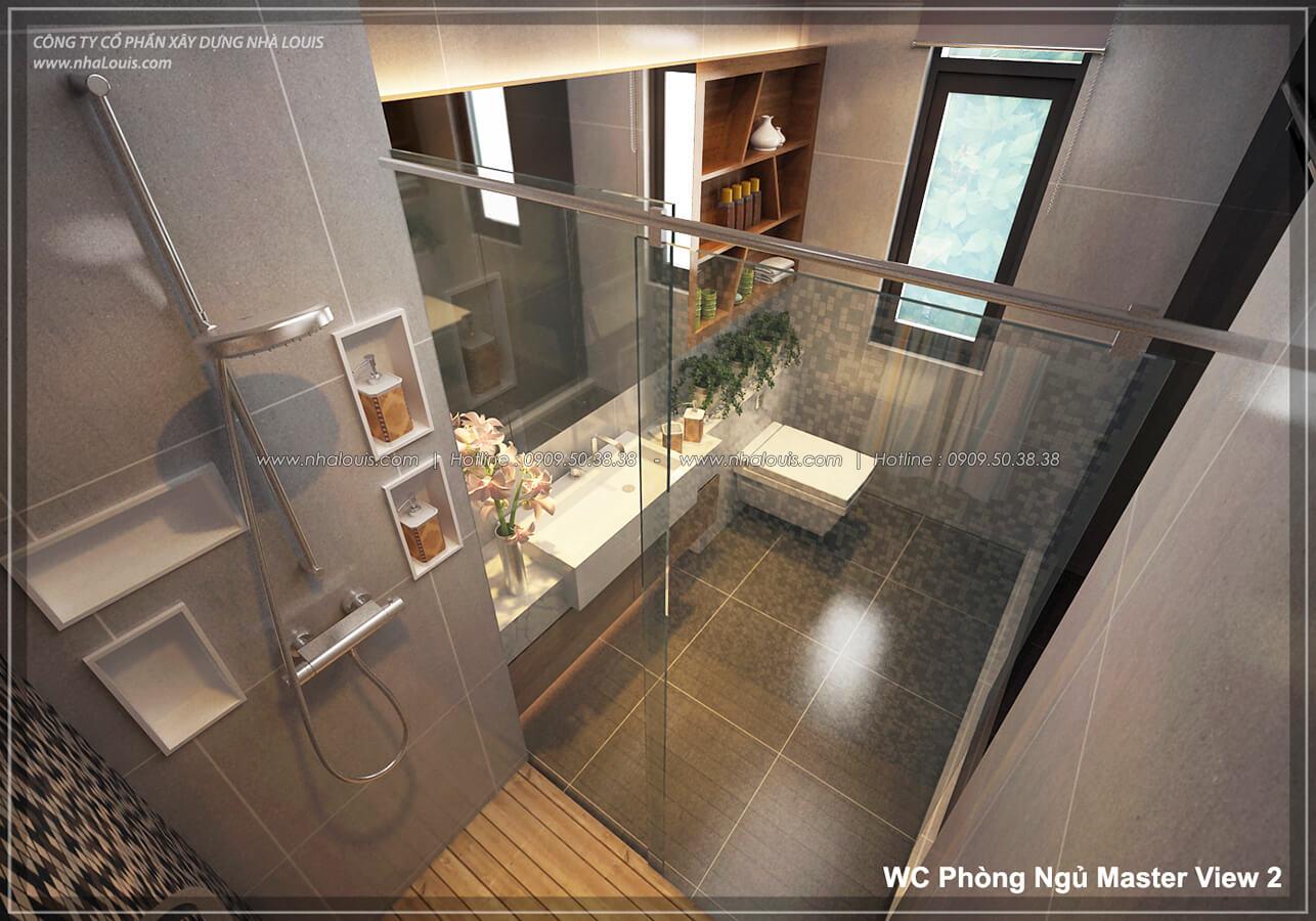 Phòng tắm và WC Thiết kế nội thất biệt thự cao cấp Lucasta Villa 5 sao tại Quận 9 - 22