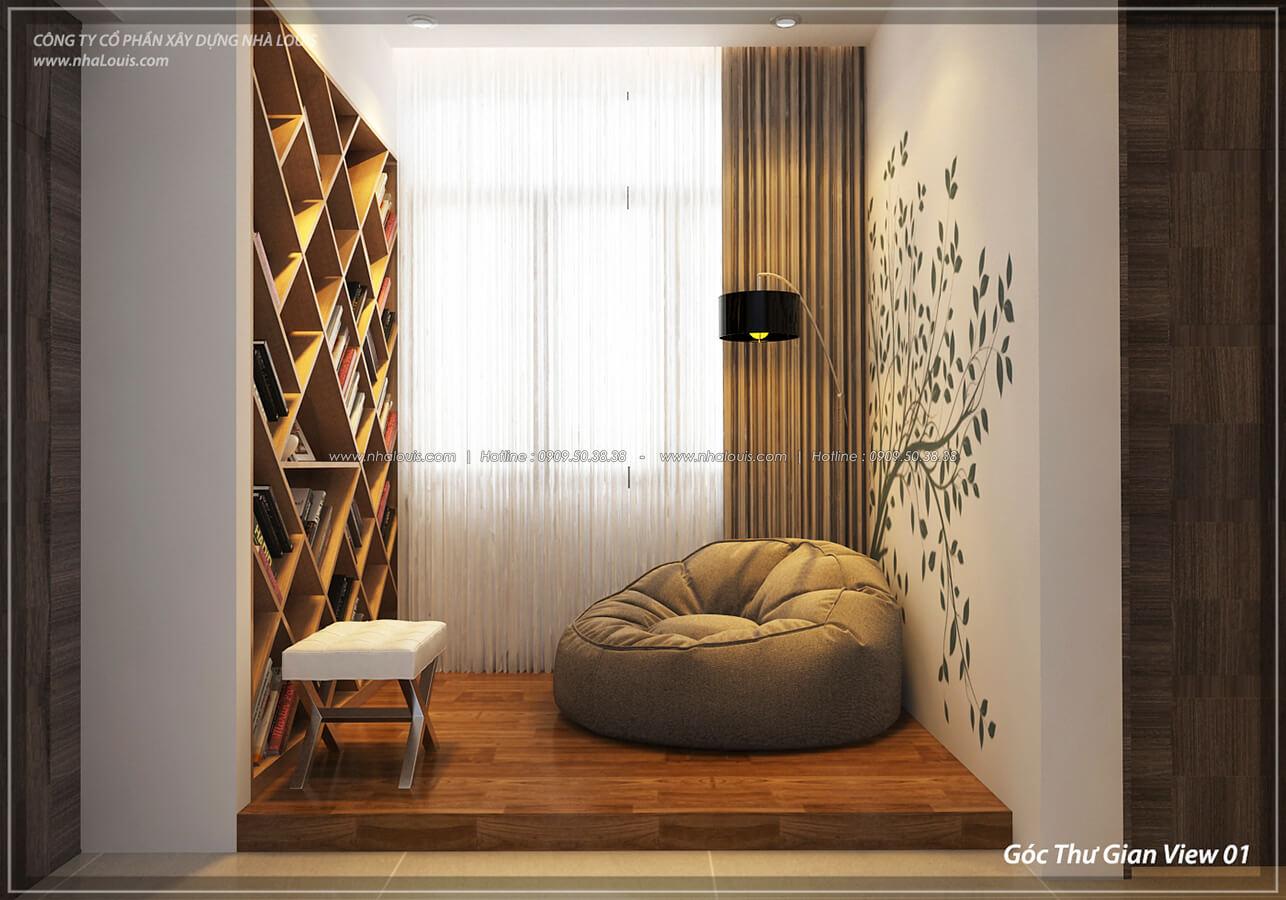Góc thư giãn Thiết kế nội thất biệt thự cao cấp Lucasta Villa 5 sao tại Quận 9 - 24
