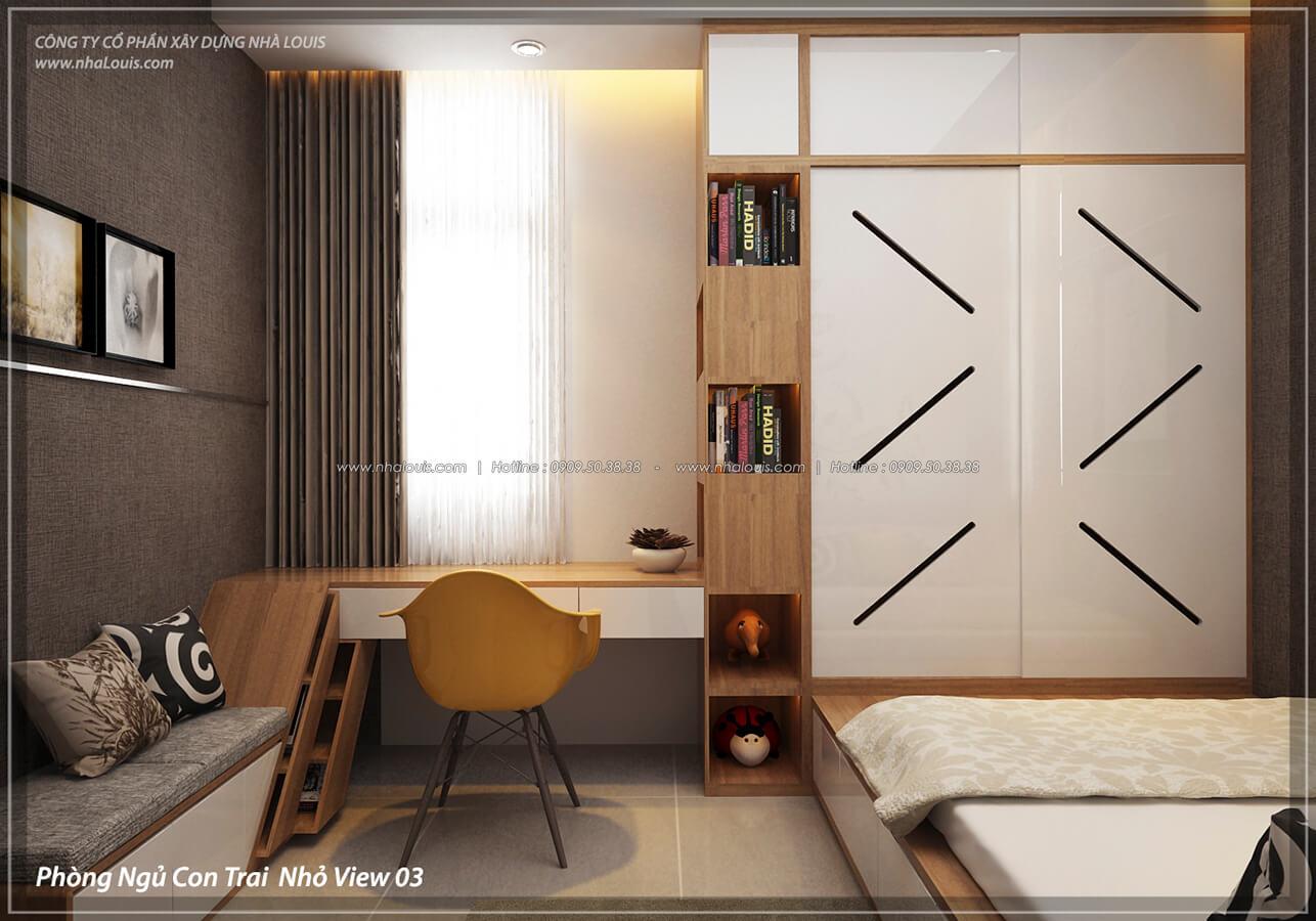 Phòng ngủ con trai Thiết kế nội thất biệt thự cao cấp Lucasta Villa 5 sao tại Quận 9 - 33