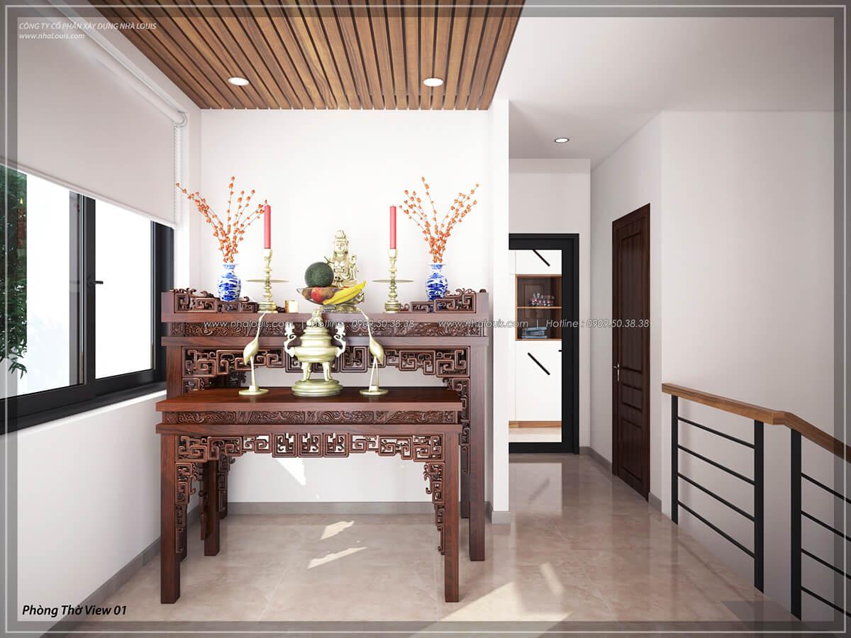 Phòng thờ Thiết kế nội thất biệt thự cao cấp Lucasta Villa 5 sao tại Quận 9 - 38