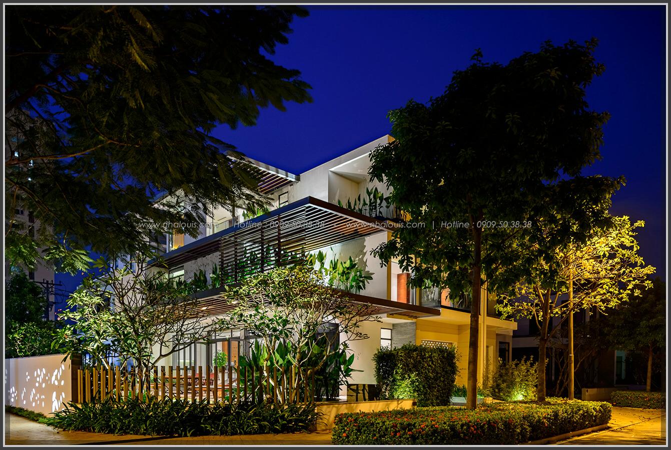 Mặt tiền Thiết kế nội thất biệt thự cao cấp Lucasta Villa 5 sao tại Quận 9 - 3