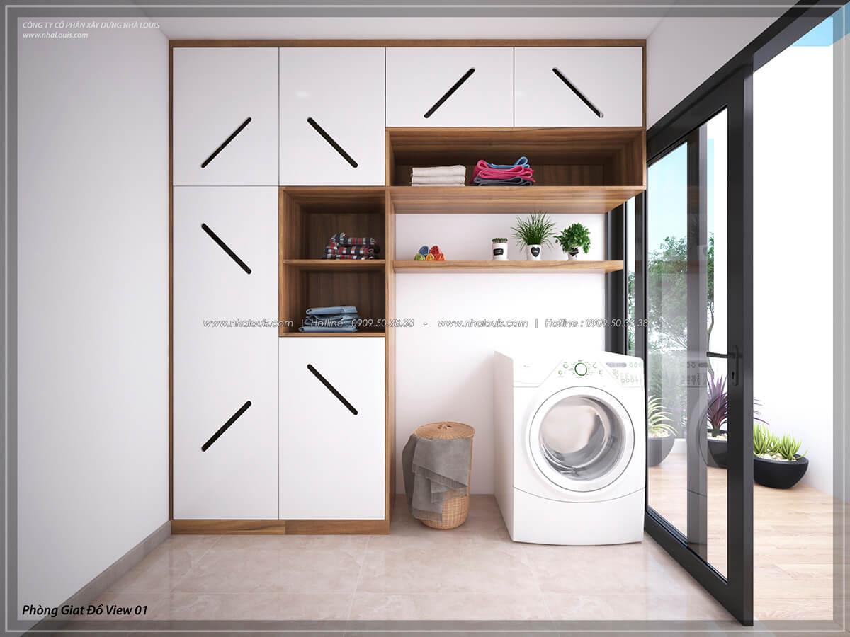 Phòng giặt đồ Thiết kế nội thất biệt thự cao cấp Lucasta Villa 5 sao tại Quận 9 - 46